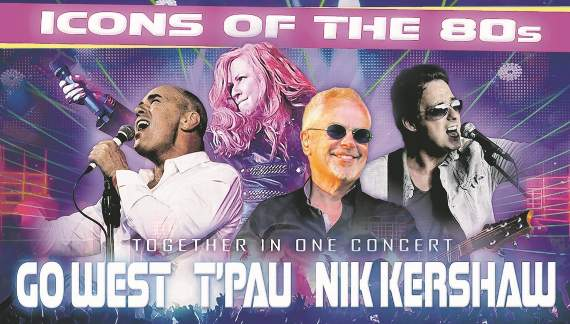 Win tickets to see Icons of the 80s