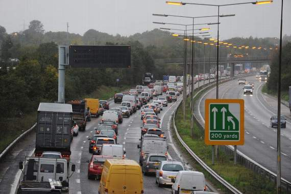 Queues back to Dagenham reported on A13 following oil spillage